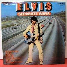 Discos de vinilo: ELVIS PRESLEY (SEPARATE WAYS) LP33. Lote 969579