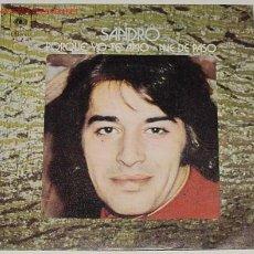 Discos de vinilo: ANTIGUO DISCO DE SANDRO. Lote 70907