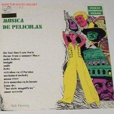Discos de vinilo: ANTIGUO DISCO LP MUSICA DE PELICULAS. Lote 70449