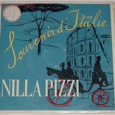 Discos de vinilo: ANTIGUO DISCO DE NILLA PIZZI. Lote 70875