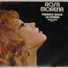 Discos de vinilo: ANTIGUO DISCO SINGLE DE ROSA MORENA. Lote 2680739