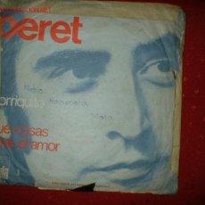 Discos de vinilo: ANTIGUO SINGLE PERET.. Lote 71328