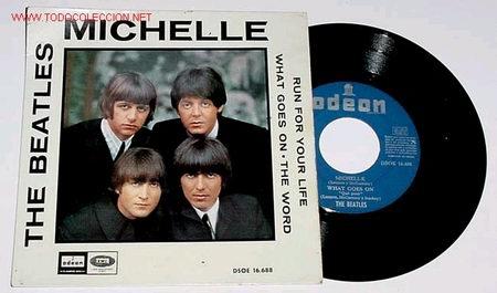 ANTIGUO DISCO EP - MICHELLE - THE BEATLES - 1966 (Música - Discos de Vinilo - EPs - Pop - Rock Extranjero de los 50 y 60)