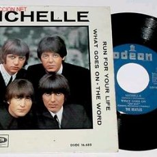 Discos de vinilo: ANTIGUO DISCO EP - MICHELLE - THE BEATLES - 1966. Lote 27462607