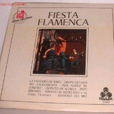 Discos de vinilo: DISCOS: DISCO LP FIESTA FLAMENCA. Lote 3761710