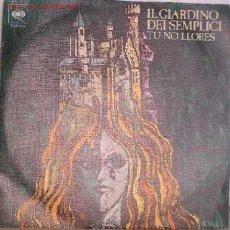 Discos de vinilo: DISCOS: DISCO SINGLE IL GIARDINO DEIS EMPLICI VV. Lote 11953786