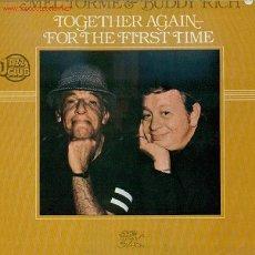 Discos de vinilo: MEL TORME & BUDDY RICH - TOGETHER AGAIN FOR THE FIRST TIME, VER CONTENIDO EN FOTO ADJUNTA XXX. Lote 23995555