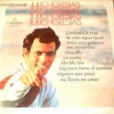 Discos de vinilo: EP DE JULIO IGLESIAS. Lote 12733093