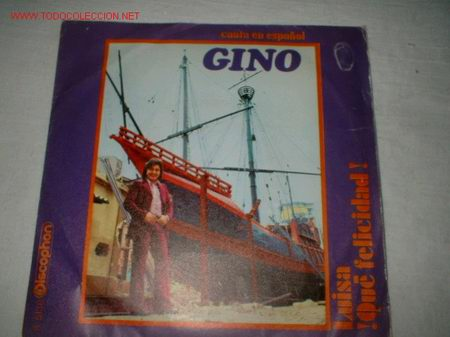 Discos de vinilo: ANTIGUO DISCO SINGLE -GINO- AÑO 1971. - Foto 1 - 193131