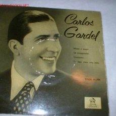 Discos de vinilo: ANTIGUO DISCO SINGLE -CARLOS GARDEL- AÑO 1958.. Lote 1179204