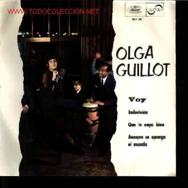 MUSICA GOYO - EP VINILO - OLGA GUILLOT - VOY - *BB99 (Música - Discos de Vinilo - EPs - Solistas Españoles de los 50 y 60)