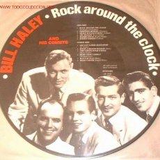 Discos de vinilo: PICTURE-DISC DE ROCK CLASICO:BILL HALEY. Lote 19961776