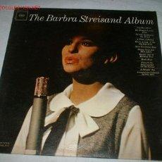 Discos de vinilo: ALBUM -THE BARBRA STREISAND- AÑO 1963. Lote 46002539