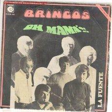Discos de vinilo: LOS BRINCOS, OH MAMÁ.. Lote 26985583