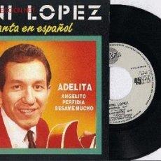 Discos de vinilo: TRINI LOPEZ EP PROMO CANATNDO EN ESPAÑOL 4 STANDARDS. Lote 6003288