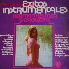 Discos de vinilo: EXITOS INSTRUMENTALES: HERMAN HELMER Y ORQUESTA. Lote 20156647