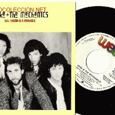 Discos de vinilo: MIKE (RUTHEFORD DE GENESIS) & THE MECHANICS SINGLE PROMOCIONAL DE 1985 . Lote 11107874