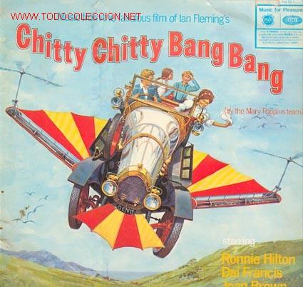 CHITTY, CHITTY BANG BANG. MÚSICA DE LA PELICULA... XXX (Música - Discos - LP Vinilo - Bandas Sonoras y Música de Actores )