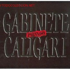 Discos de vinilo: GABINETE CALIGARI LP PRIVADO. Lote 323952