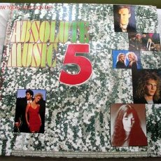 Discos de vinilo: ABSOLUTE MUSIC 5 (ROXETTE,ROBERT PALMER,STEVE WINWOOD,PATTI SMITH...) LP33 DOBLE. Lote 10837117