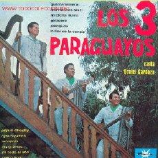 Discos de vinilo: LOS TRES PARAGUAYOS . Lote 26477182