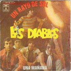 Discos de vinilo: LOS DIABLOS. UN RAYO DE SOL. Lote 27520855