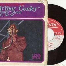 Discos de vinilo: SINGLE ARTHUR CONLEY / FUNKY STREET / SOUL / AH! AH! AH! // EDITADO EN ESPAÑA 1968. Lote 40722200