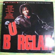 Discos de vinilo: ORIGINAL MOTION PICTURE SOUNDTRACK ' BURGLAR ' LP33. Lote 1995787