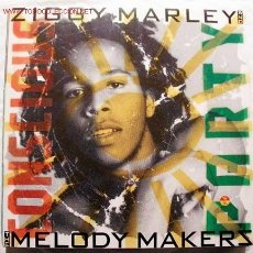 Discos de vinilo: ZIGGY MARLEY AND THE MELODY MAKERS (CONSCIOUS PARTY) 1988 LP33. Lote 2402391