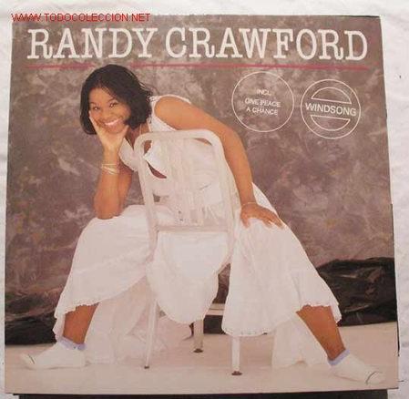 RANDY CRAWFORD ( WINDSONG ) 1982 - GERMANY LP33 WARNER BROS RECORDS (Música - Discos - LP Vinilo - Pop - Rock - New Wave Extranjero de los 80)