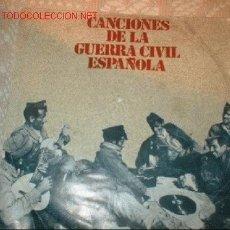 Discos de vinilo: 2 DISCOS SINGLE-CANCIONES DE LA GUERRA CIVIL ESPAÑOLA. AÑO 1978.. Lote 1142398
