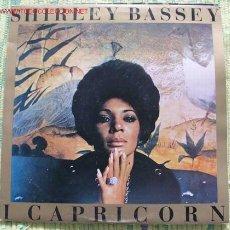 Discos de vinilo: SHIRLEY BASSEY (I CAPRICORN) 1972 LP33. Lote 14426061