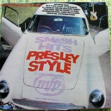 Discos de vinilo: SMASH HITS - PRESLEY STYLE LP33. Lote 400991
