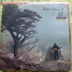 Discos de vinilo: JOAN BAEZ (JOAN BAEZ/5) LP33. Lote 401088