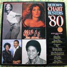 Discos de vinilo: MOTOWN CHART BUSTERS '80 (DIANA ROSS,COMMODORES,JERMAINE JACKSOIN,BILLY PRESTON & SYREETA...) LP33. Lote 2229285