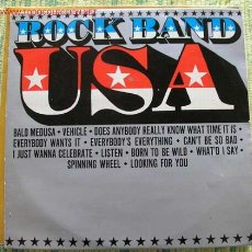 Discos de vinilo: ROCK BAND USA (HITS OF THE WORLD). Lote 2240424
