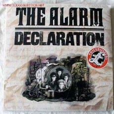 Discos de vinilo: THE ALARM 'DECLARATION' & THE HIT SINGLES 68 GUNS & EHERE WERE YOU HIDING WHEN THE STORM BROKE?. Lote 7051720