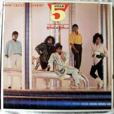 Discos de vinilo: FIVE STAR (SILK & STEEL ) 1986 - GERMANY LP33 RCA. Lote 2132688