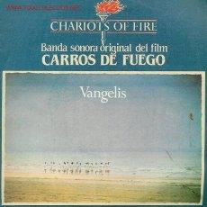 Discos de vinilo: BANDA ORIGINAL DE LA PELÍCULA CARROS DE FUEGO DE VANGELIS. . Lote 25472377