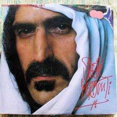 Discos de vinilo: FRANK ZAPPA (SHEIK YERBOUTI) 1979 LP33 DOBLE. Lote 1664898
