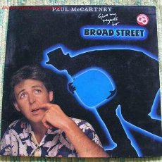 Discos de vinilo: PAUL MCCARTNEY (GIVE MY REGARDS TO BROAD STREET) 1984 LP33. Lote 1032184