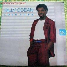 Discos de vinilo: BILLY OCEAN (LOVE ZONE) LP33. Lote 3157952