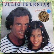 Discos de vinilo: JULIO IGLESIAS (DE NIÑA A MUJER) LP33. Lote 1058936