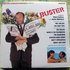 Discos de vinilo: BUSTER (PHIL COLLINS, THE FOUR TOPS, GERRY & THE PACEMAKERS...) ORIGINAL MOTION PICTURE SOUNDTRACK. Lote 2149367