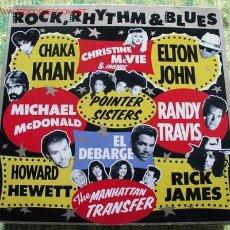 Discos de vinilo: ROCK, RHYTHM & BLUES (VARIOS). Lote 1026854