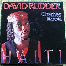 Discos de vinilo: DAVIS RUDDER (CHARLIES ROOTS) HAITI. Lote 1141406