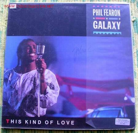 PHIL FEARON ET GALAXY (THIS KIND OF LOVE) LP33 (Música - Discos - LP Vinilo - Disco y Dance)