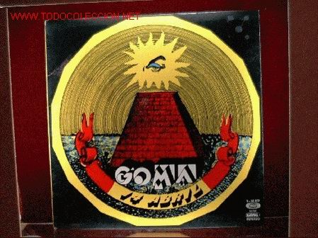 GOMA - 14 ABRIL LP DE SELLO MOVIEPLAY SERIE GONG EDICION ESPAÑOL 1975 EN PERFECTO ESTADO (Música - Discos - LP Vinilo - Grupos Españoles de los 70 y 80)