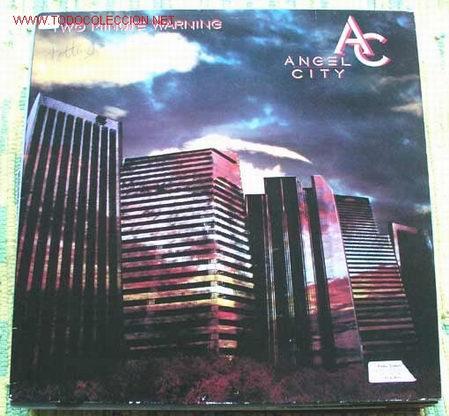 ANGEL CITY ( TWO MINUTE WARNING ) 1984 LP33 MCA RECORDS (Música - Discos - LP Vinilo - Pop - Rock - New Wave Extranjero de los 80)