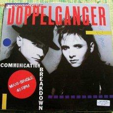 Discos de vinilo: DOPPELGANGER (COMMUNICATION BREAKDOWN) MAXISINGLE 45. Lote 438407